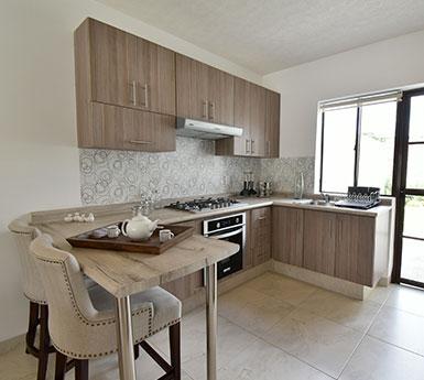Foto de fraccionamientos en León, Capellanía Residencial, modelo Andalucía, cocina.