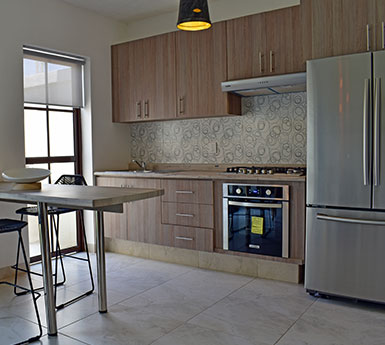 Foto de fraccionamientos en León, Capellanía Residencial, modelo Córdoba, cocina.
